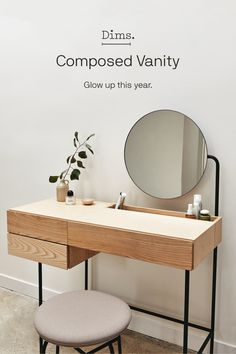 Our sold-out Composed Vanity is available for preorder! Pay over time with Affirm pricing.