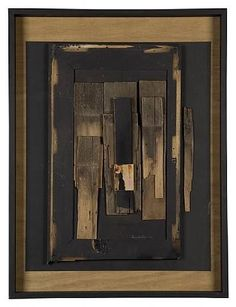 Untitled. 1974. Louise Nevelson Louise Nevelson, Joseph Cornell, Modern Art, Contemporary Art, Contemporary Sculpture, Dada Artists, Sculpture Art, Sculptures, Collages