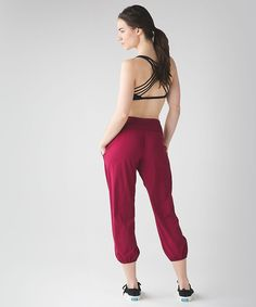 The Colour Edit: Rosewood. Om Pant.