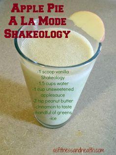 Click the photo for an Apple Pie A La Mode Shakeology Recipe Shakeology Shakes, Vanilla Shakeology, Granola, 310 Shake Recipes, 21 Day Fix Snacks, Protein Smoothie Recipes, Smoothies, Healthy Shakes, Protein Shakes