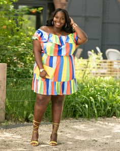 Bold and Vibrant Plus Size Fashion Looks Spring Summer 2017
