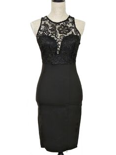 Lace Your Bets Midi Dress - Black - $50.00 | Daily Chic Dresses | International Shipping