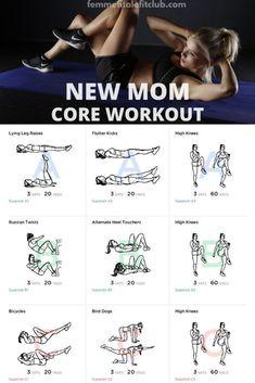 New Mom Workout Plan New Mom Workout Plan,Fit & Healthy Life If you are a new mom and ready to get your mom body snatched back then you want to check out this core and abs workout essentials necessities bag for mom to be mom tips care 5 Day Workout Plan, New Mom Workout, After Baby Workout, 5 Day Workouts, Post Baby Workout, Post Pregnancy Workout, Fitness Workouts, At Home Workouts, Fitness Classes