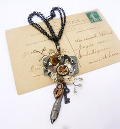 Mixed Media Collage Ideas | Steampunk Wedding eclectic Mixed Media Collage by ... | Craft Ideas