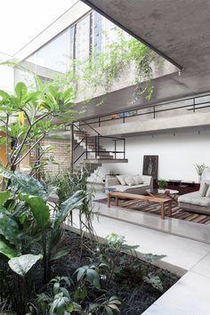 "cknd: "" Jardins House by CR2 Arquitetura "" ."