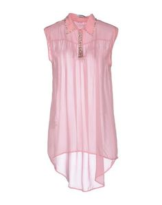 delicate, pink, tunic.