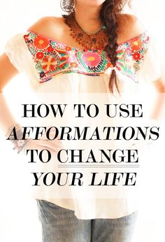 How to Use Afformations to Change Your Life | Levo League #advice #afformations #wisdom