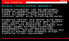 Seite 463.1 - teletext.ORF.at Microsoft, Multimedia, Privacy Settings, Tuesday
