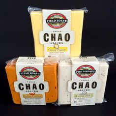 Chao  is the new Vegan cheese from Field Roast . It was announced out of the blue a couple months ago and I have been anxiously awaiting i...