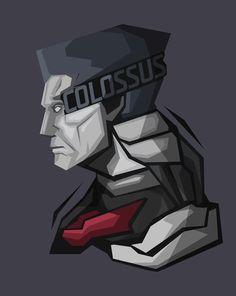 #Colossus #Xmen #popheadshots