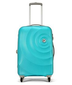 #2: Skybags Polycarbonate 67 cms Turquoise Hardside Suitcases (FLINT67TRQ) This ranks among the best of the best online products in Luggage  category in India. Click below to see its Availability and Price in YOUR country.