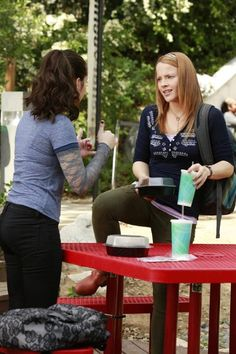 Still of Vanessa Marano and Katie Leclerc in Switched at Birth (2011)