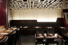 Miyake Restaurant - contemporary - dining room - portland maine - by Kaplan Thompson Architects