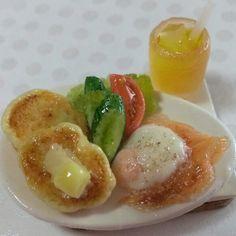 ミニチュア・朝食パンケーキ