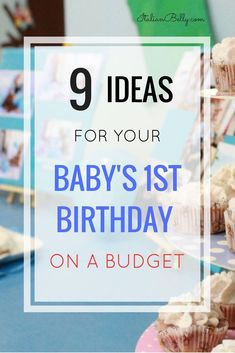 Baby's Birthday Ideas on a Budget Nine ideas and tips for planning your baby's first birthday party on a budget. Get ideas and tips for party favours, food, birthday cake and party decor. First Birthday Activities, 1 Year Old Birthday Party, Boys First Birthday Party Ideas, Birthday Themes For Boys, Baby Boy First Birthday, Boy Birthday Parties, Party Food For 1 Year Old, Planning 1st Birthday Party, Birthday Party Checklist