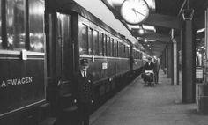 Black and White train