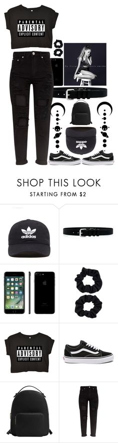 """""""-Explicit Content-"""" by see-starxs-above ❤ liked on Polyvore featuring adidas Originals, IRO, Accessorize, Vans and MANGO"""