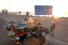 Mit dem Motobike von Deutschland bis an Arabiens Grenze