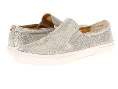 michael kors boerum glittered slip on sneakers