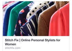 I just love stitch fix. What a fun way to get new clothes you just have to check it out!!