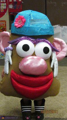 Mrs. Potato Head Costume - Halloween Costume Contest