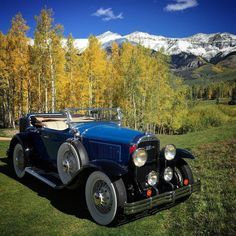 Because that's how I like to roll... 1929 Buick Model 44. #carsandcolors #telluride