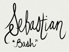 Sebastian, nn Bash. Names from the CW's Reign, a fictionalized account of Mary Queen of Scots set in 1557 France. For Lanie.