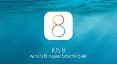 iOS 8. Vanaf dit najaar beschikbaar.