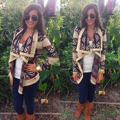 Fall fashion | cardigan and fringe | fringe boots | fall cardigans | fall outfit