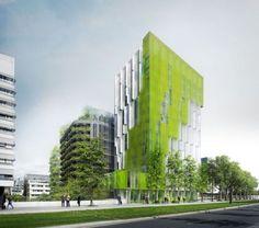 In Vivo wins the Réinventer Paris competition Bartlett School Of Architecture, Green Architecture, Sustainable Architecture, Paris Architecture, In Vivo, Building Facade, Green Building, Building Plans, Réinventer Paris