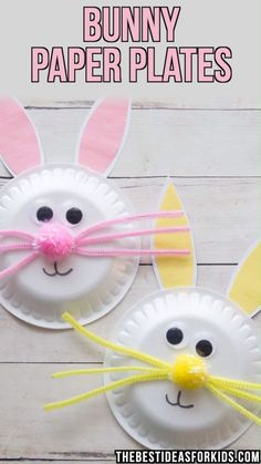 Previous Post BUNNY PAPER PLATES 🐰 You are in the right place about mason jar crafts Here we offer you the most beautiful pictures about the crafts for tweens you are looking for. When you examine the BUNNY PAPER PLATES 🐰 part of the picture you can … Spring Crafts For Kids, Bunny Crafts, Easter Crafts For Kids, Art For Kids, Craft Kids, Easter Crafts For Preschoolers, Easy Toddler Crafts, Paper Plate Crafts For Kids, Crafts For Children