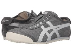 Onitsuka Tiger by Asics - Mexico 66 Slip-On Shoes Onitsuka Tiger Mexico 66, Vegan Fashion, Slip On Shoes, Lace Shoes, Top Shoes, Grey Shoes, Asics, Pumps, Shoe Bag