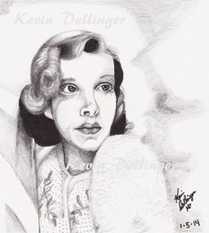 Young Judy Garland by ilikecokekd.deviantart.com on @deviantART