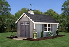 colonial shed | New England Colonial Sheds coupola
