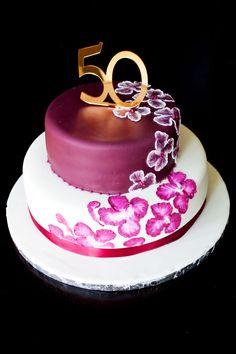 Elegant 50th Birthday Cake Ideas More Cakes For Women 18th
