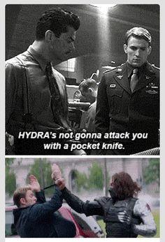 Captain America irony