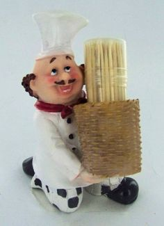 Fat Chef Toothpick Holder Kitchen Decoration AZP-Chef http://www.amazon.com/dp/B004AFZOP2/ref=cm_sw_r_pi_dp_0gs3ub15HF440