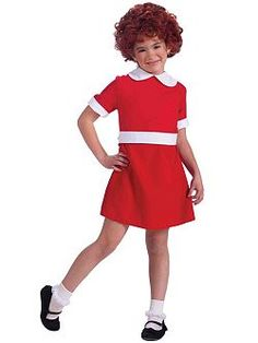 Annie Girl's Costume Girls Costumes Cartoon Characters Costume at Wholesale Prices