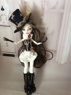 Monster Doll High Repaint. Caitlin. Sold Layaway by BeaNMeDolls