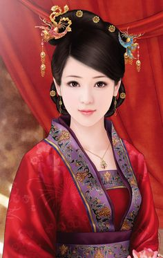 chinese art ~~ For more: - ✯ http://www.pinterest.com/PinFantasy/arte-~-la-mujer-en-el-arte-chino-women-in-chinese-/