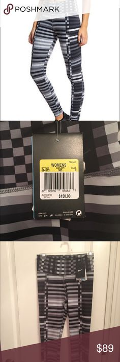 Nike Legendary engineered lattice leggings size S New!! With tags!!! Grey and black color  Retail at 150!!!! Size s small women's.                                Tags --- ; zumiez; miss me; buckle; victoria's secret, PINK, vintage;  converse; vans; lululemon; nike; louis vuitton; michael kors; lularoe; adidas; supreme Hollister American eagle cute clothes style fashion run running sport sports Kate spade Calvin Klein coach purse shoes Nike Pants Leggings