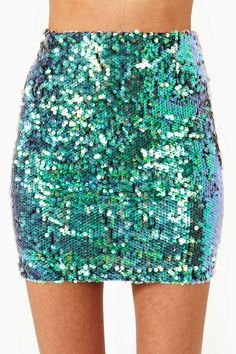 Splash Sequin Skirt | Shop Clothes at Nasty Gal!