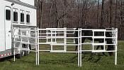 Pricing information for our Portable Horse Corral that collapses to its size. Buy now, for Horse Shows, Rodeos, Tail Riding and Camping. Rodeo Outfits, Rodeo Clothes, Horse Pens, Tack Trunk, Horse Corral, Horse Camp, Rodeo Life, Horse Trailers, Barrel Racing