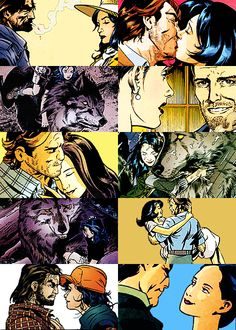 i think bigby and snow had kids then got married (hey but i could be wrong i mean i have not seen fables #2 and #3 so my bad)