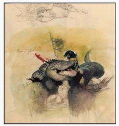 Cap'n's Comics: New Paperback Cover by Frank Frazetta!!!