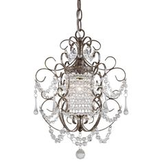 View the Minka Lavery ML 3121 1 Light 1 Tier Crystal Chandelier from the Mini Chandeliers Collection at LightingDirect.com. Master closet her side add can lights to her closet.