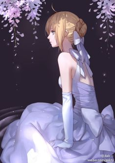 Fate/stay night, Saber~White Dress