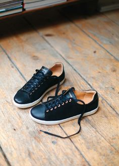 2ecabeb9cde01c Jack sneakers - Black Suede and Leather