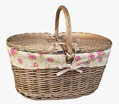 Features: Oval shape Full antique wash finish willow - cream faux leather - removable cotton lining Handmade by artisans from ecological and environm Wine Picnic Basket, Vintage Picnic Basket, Vintage Rosen, Picnic Backpack, Insulated Lunch Bags, Deep, Wicker Baskets, Craft Stores, Picnic Blanket