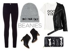 """Beanies for Bad Hair Days"" by styleskater7 ❤ liked on Polyvore featuring Local Heroes, J Brand, Rupert Sanderson, Tommy Hilfiger and VIPARO"